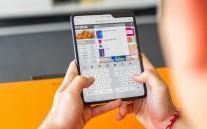 Samsung Galaxy Fold metodele de tastare