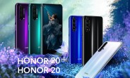 Honor 20 and Honor 20 Pro go official with quad cams, flagship Kirin 980 chipset