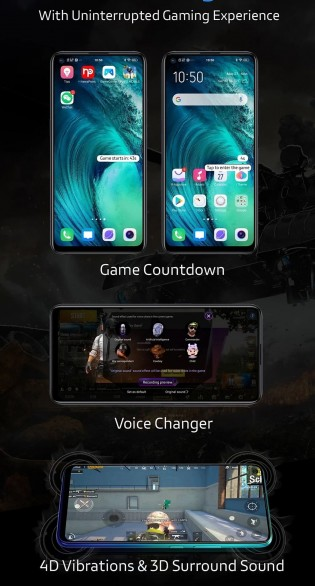 Some of the vivo Z1 Pro features