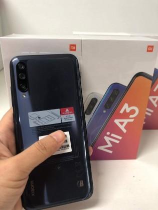 Xiaomi Mi A3 with its retail box