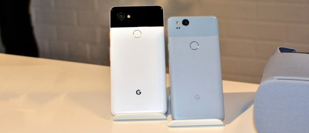 Pixel 2 and Pixel 2 XL Phones by Google