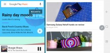 Multi-window in landscape - Samsung Galaxy Note9 review