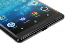 Bottom side - Sony Xperia XZ3 review