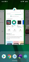 Task switcher - Motorola Moto G7 review