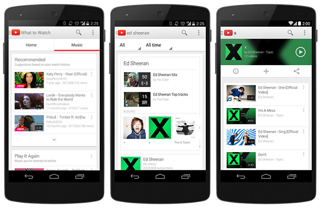 YouTube updates its iOS and Android apps with Music homepage – TechGrade