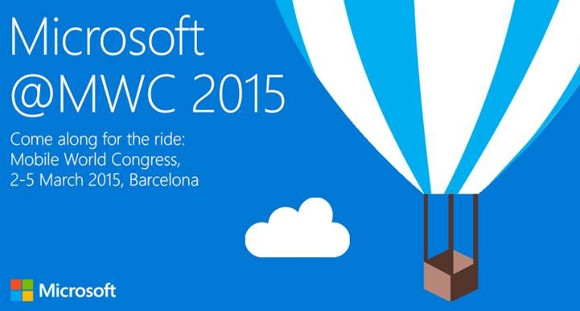 Microsoft MWC 2015 Conference