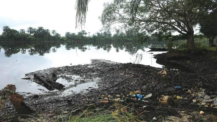 Image result for ogoni oil spill