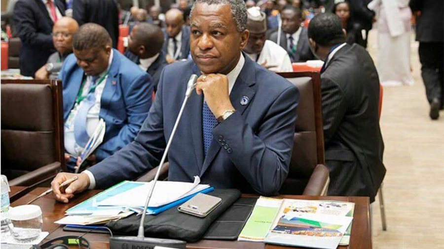 Nigeria's minister of foreign affairs, Geoffrey Onyeama. PHOTO: TWITTER/ GEOFFREY ONYEAMA