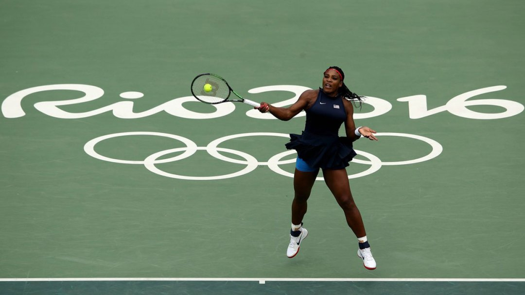 Serena Williams' hopes of a fifth Olympic gold medal were crushed by Ukraine's Elina Svitolina on Tuesday as the battle for the women's title in Rio was blown wide open.