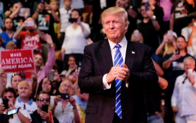 US Republican presidential candidate Donald J. Trump/ AFP PHOTO / Gaston De Cardenas