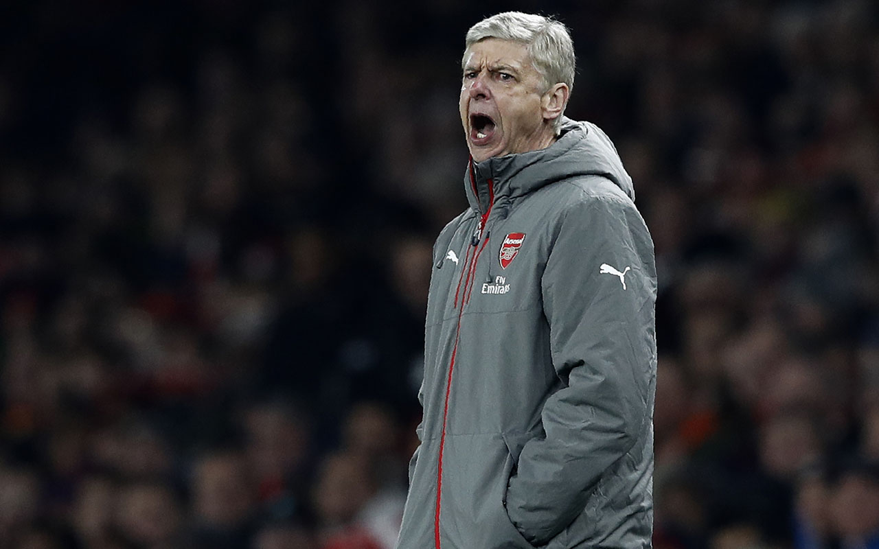 Arsenal's French manager Arsene Wenger / AFP PHOTO / Adrian DENNIS /