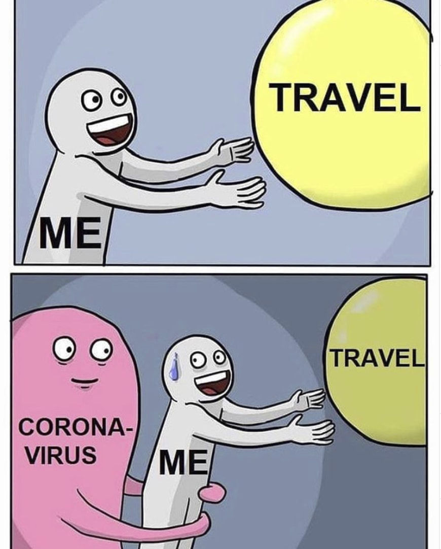 These Hilarious Travel Memes Will Remind You Of What Life Was Like