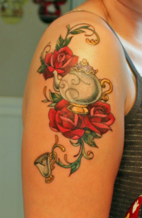 Completely Awesome Disney Tattoos Part Of Your World Guff