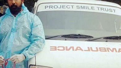 Kannada Actor Turns Ambulance Driver For Covid Victims