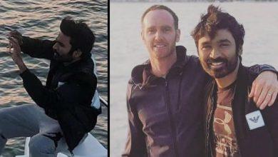 Pics: Dhanush Starts Shooting For 'The Gray Man' In California