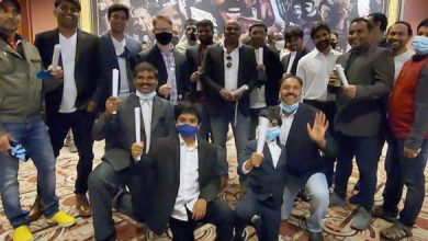 US Fans In Lawyer Attire At Vakeel Saab Premieres