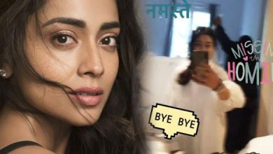 Shriya Saran Is Coming Back To India From Barcelona