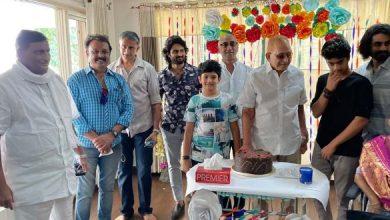 Krishna Celebrates B'Day With Family, Mahesh Skips!