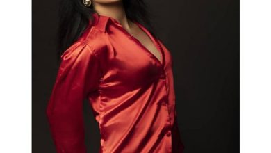 Pic Talk: Voluptuous Nandini Sizzles In Silky Shirt