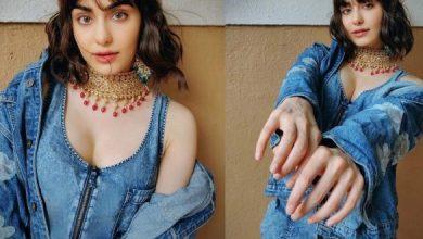 Adah Sharma's Irresistibly Hot Treat In Denim Wear