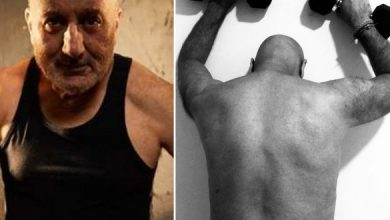 Pic: 66 Yr Old Actor Eases Stress Via Workouts