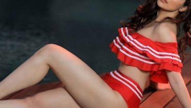 Laxmi Raai Dazzles In Ruffled Bikini