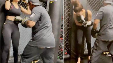 Video: Urvashi Rautela Shares Her Beast-Mode Training