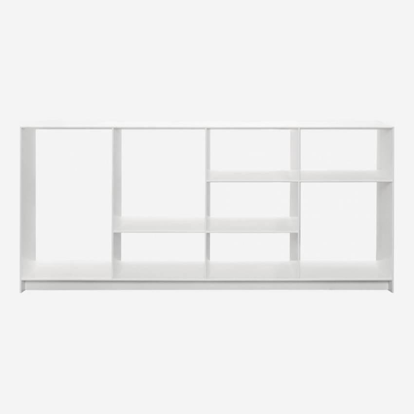 etagere basse blanche