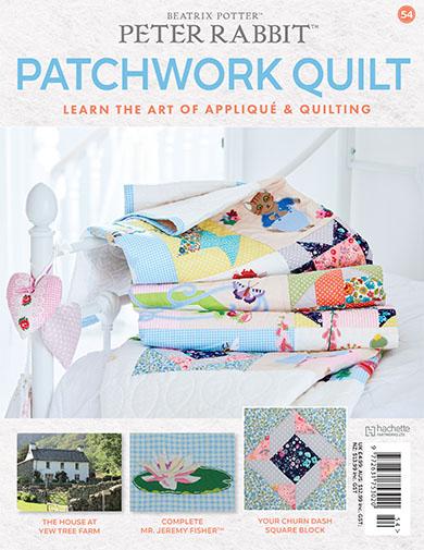 peter rabbit patchwork quilt