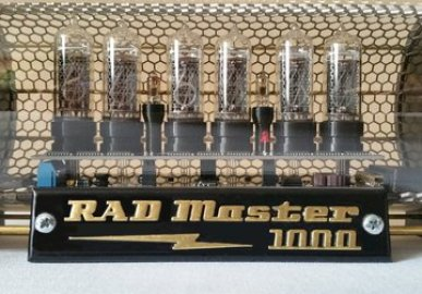 the RAD Master 1000 - Nixie clock