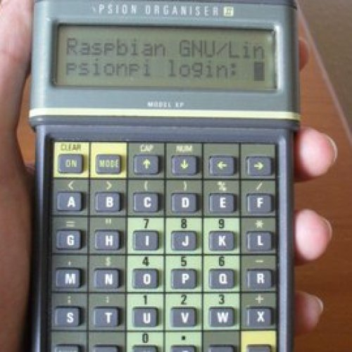 Getting online with a 1987 Psion Organiser II