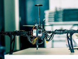 Multicopter Y6 Drone and GoPro Gimbal