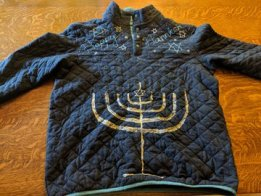 Blinky Light Hanukkah Sweater
