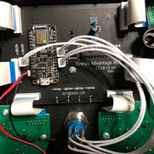 Wireless BLE Kinesis Advantage (Custom Controller)