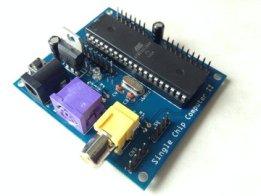 Single Chip AVR BASIC Computer