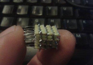 Smallest 4x4x4 LED Cube Yet