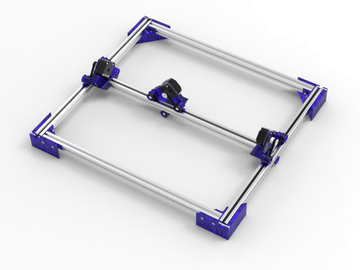 Lowest Complexity Laser Cutter
