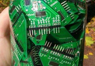 Homebrew ternary computer