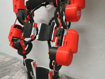 Alice Open Source Exoskeleton 2021 Update