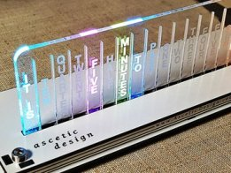 Word Clock base on RGB LED WS2812B