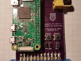 Raspberry Pi Zero W / Commodore 64 Interface Board