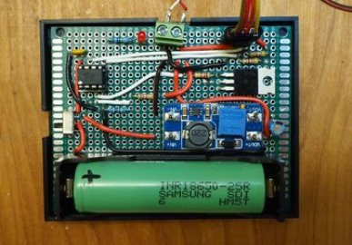 ATtiny85 based Lithium-Ion Battery Power Bank