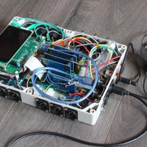 Multichannel Audio DSP Field Mixer Recorder