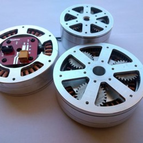 Custom motor for robotics