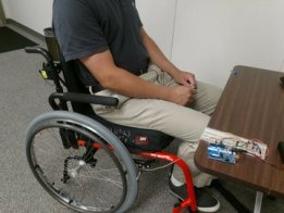 Wheelchair User Pressure Relief Indicator System