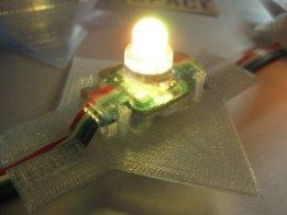 LED Stegosaurus Spikes