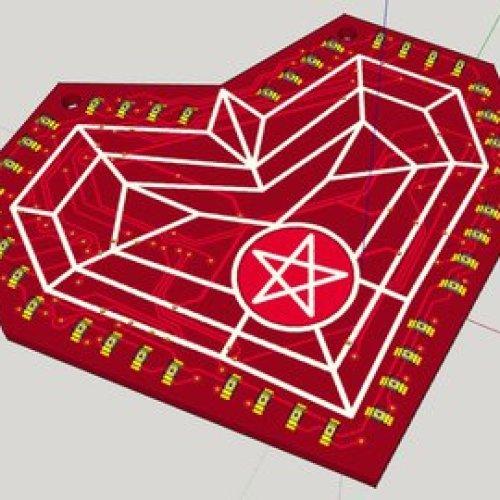 #111 st Satan's Day heart