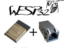 wESP32: Wired ESP32 with Ethernet and PoE