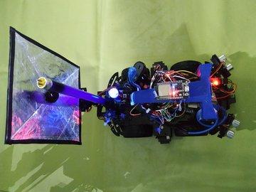 UV Sanitizing Autonomous Robot