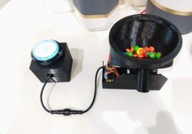 M&M Dispenser (for research use only!)